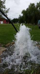 well drilling in Bruce Township