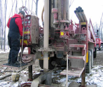 Lapeer County Well Driller Discusses Well Drilling Equipment